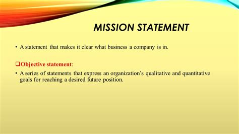 mission statement vs objectives mission statement objectives 28 images 28 mission