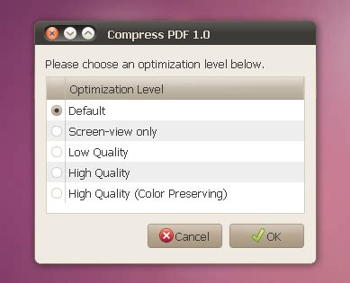 compress pdf ghostscript nautilus script to compress pdf files web upd8 ubuntu