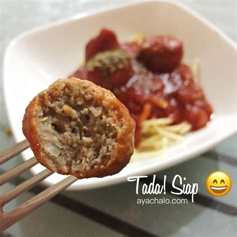 Meatball Di Ikea resipi meatball simple dan sedap aya chalo stories