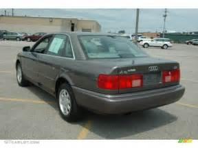 1996 Audi A6 Grey Metallic 1996 Audi A6 2 8 Quattro Sedan