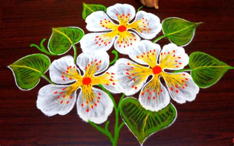 Quilling Vase Easy Free Hand Rangoli Designs Simple Rangoli With Out