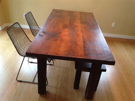 pine dining room table reclaimed heart pine dining table transitional dining