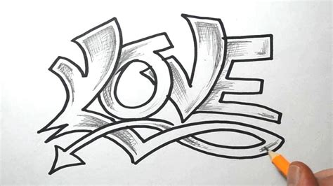 imagenes que digan love you gonzalo de graffitis que digan love you how to draw love in