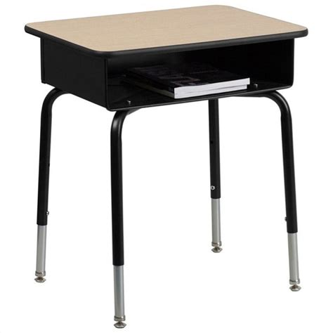Flash Furniture Student W Open Front Book Box Classroom Student Desk