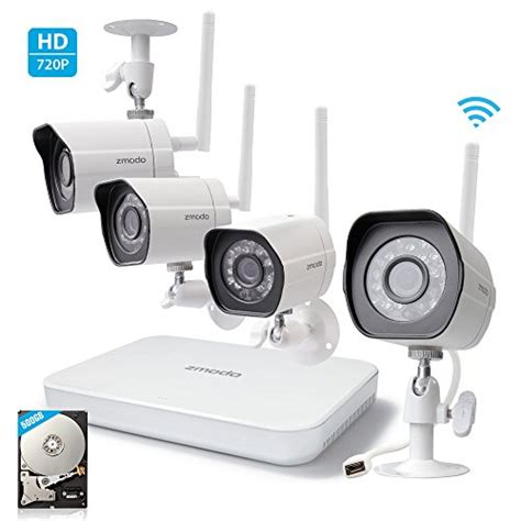 zmodo home security systems 720p hd wireless outdoor