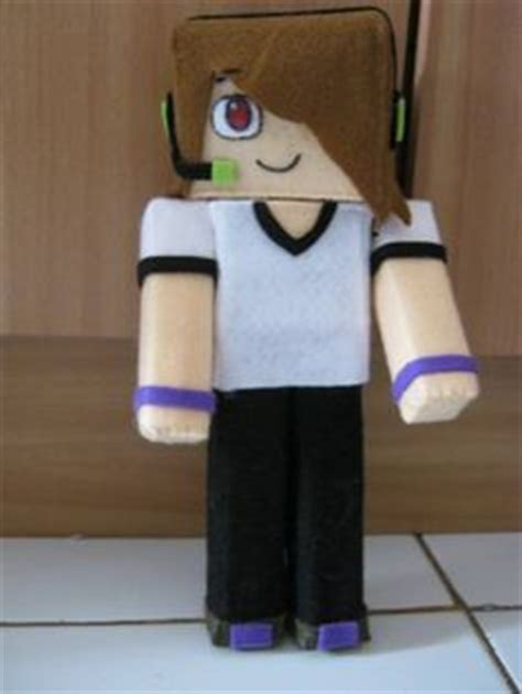 Minecraft Papercraft Sty - deadlox on youtubers minecraft skins and