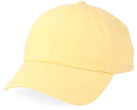 Adjustable Shoo Cap Yellow baseball cap cotton yellow adjustable stetson caps