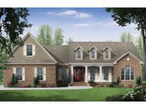 Traditional Country House Plans Green Country Ranch Home Plan 077d 0128 House