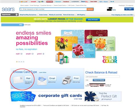 Can A Sears Gift Card Be Used At Kmart - earn more miles with sears part 1 frugal travel guy