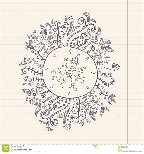 grunge paper floral background stock illustration illustration 19511049 doodles floral frame on grunge paper vector illustration stock vector image 50395639