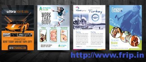 flyer design essentials 50 best spa fitness hair salon brochure template frip in