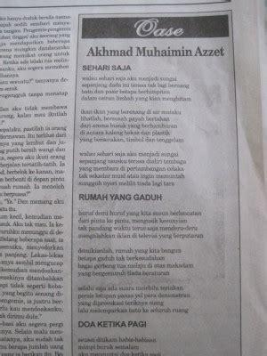 menulis puisi untuk koran menulis di koran majalah dan buku oleh akhmad muhaimin