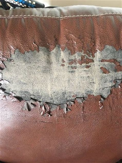 Faux Leather Is Peeling by Peeling Faux Leather Chair Hometalk