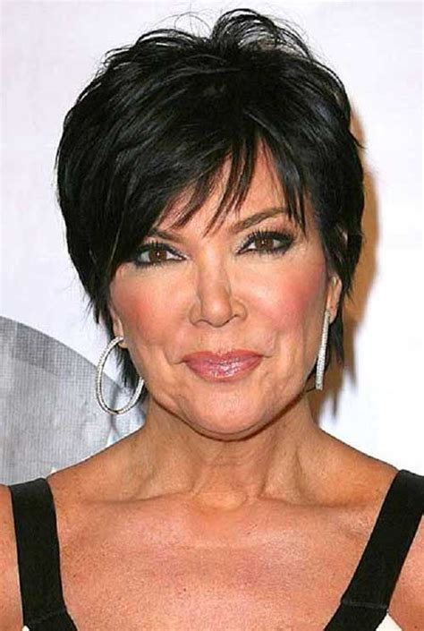 kris jenner haircut kris jenner haircut pictures back view short hairstyle