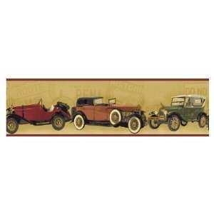 Antique Car Wallpaper Borders by Checkered Wallpaper Border Nascar Car Diner Racing F1 On