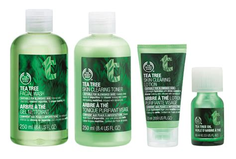 The Shop Tea Tree review the shop tea tree range health