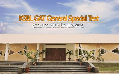 Gat Test For Mba by Ksbl Gat General Special Test For Mba Students Learningall