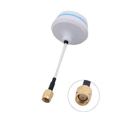 Antena Jamur 5 8 Ghz Circular Polarized Tx Rx Right Angle antenas antena cloverleaf 5 8ghz sma conector rx