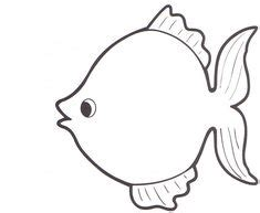 Large Fish Template Free Coloring Pages Free Printable