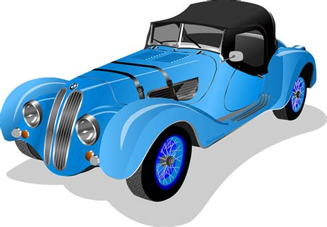 classic cars clip art free to use public domain vintage car clip art