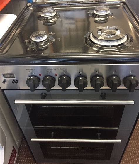 kenwood cm wide  model dual fuel gas cooker