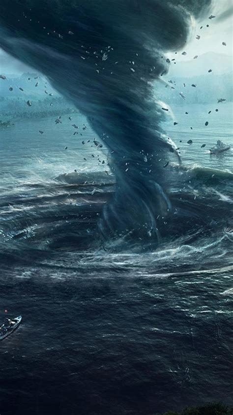 cataclysm  tornado wasteland waterspout wallpaper