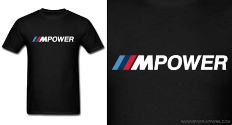 Tshirt M Power Bmw bmw m power driver apparel