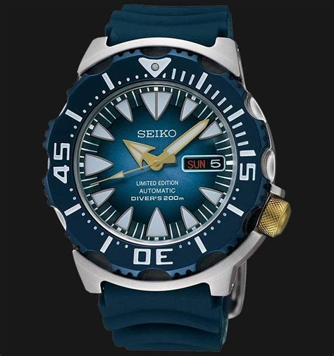 Jam Tangan Pria Seiko Limited seiko automatic limited edition diver 200m srp455