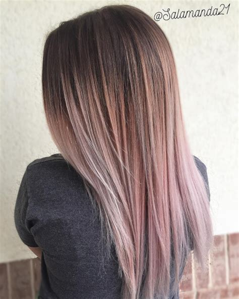 faded colour hairstyles balayage pastel hair