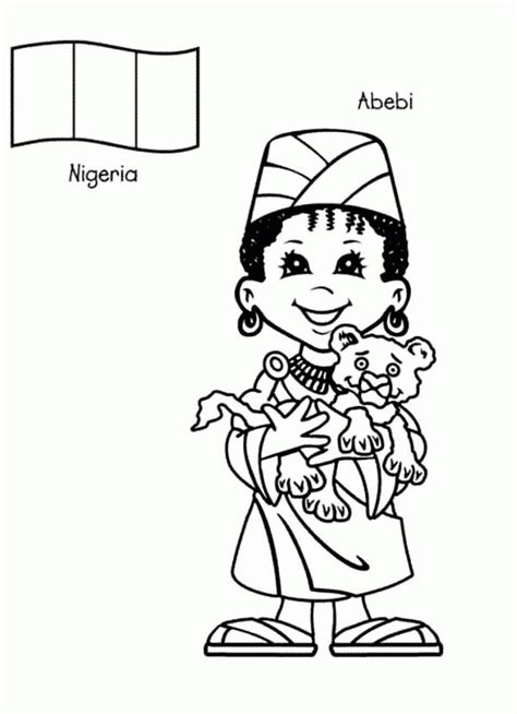 Coloring Pages Children Around The World Az Coloring Pages Printable Coloring Pages Around The World