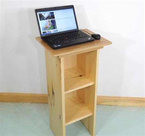 stand up laptop table stand up laptop computer table
