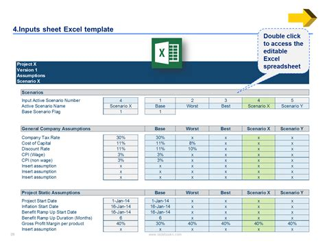 Download Now A Powerpoint Toolkit Excel Toolkit By Ex Mckinsey Excel Assumptions Template