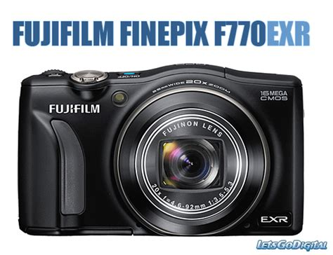 Kamera Fujifilm Finepix F770exr fujifilm finepix f770exr letsgodigital