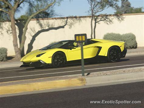 Lamborghini Scottsdale Az Lamborghini Aventador Spotted In Scottsdale Arizona On 11