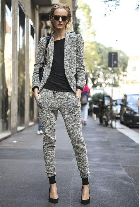 wear sweatpants   chic