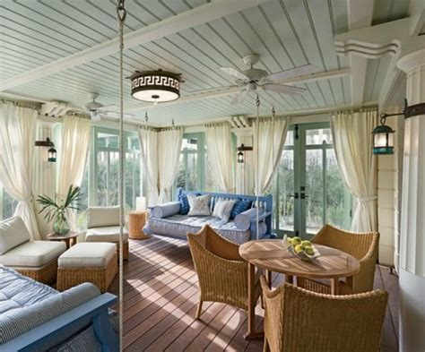 Florida Sunrooms Designs House Tour Seaside Fl House
