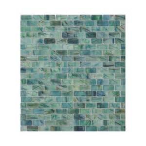 sea glass tile backsplash enlarged image