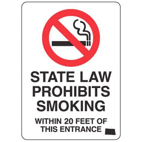 no smoking sign requirements california image gallery nd no smoking signs