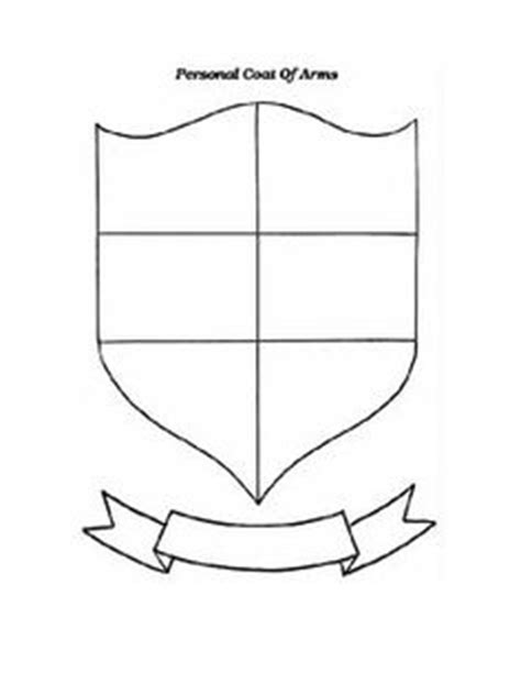 Personal Coat Of Arms Template Education Pinterest Coats Logos And Schools Personal Coat Of Arms Template