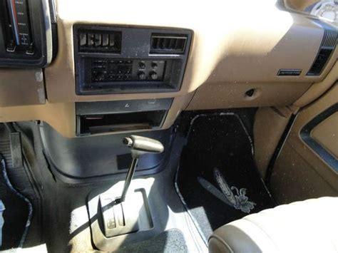 transmission control 1988 ford aerostar electronic throttle control find used 1988 ford aerostar base cargo van in salem oregon united states
