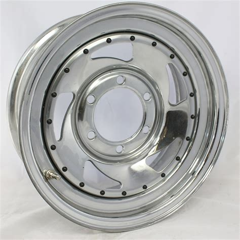 size of boat trailer wheels 15 inch chrome blade steel trailer wheel trailer rim 6 lug