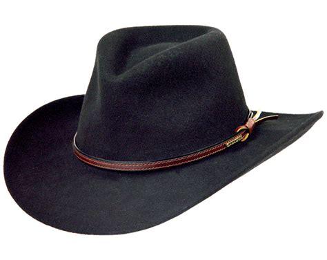 stetson bozeman wool felt crushable cowboy hat twboze