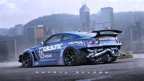 custom nissan skyline drift khyzyl saleem concept artist at ea ghost games a r s e