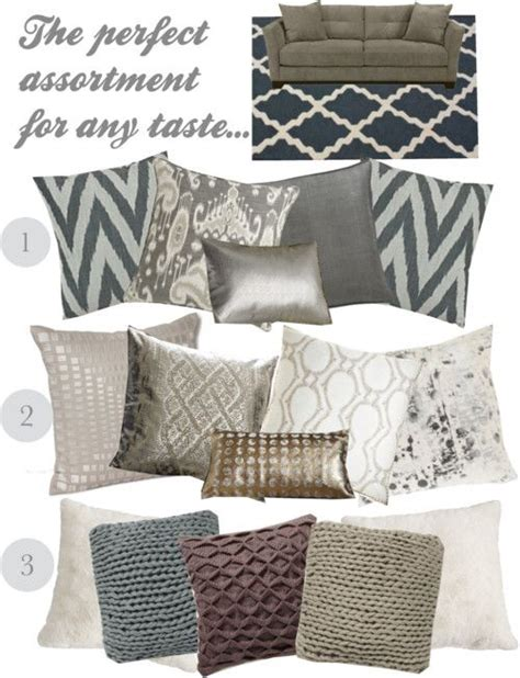 Sofa Throw Pillow Ideas Best 25 Pillow Arrangement Ideas On Accent Pillows Bed For Sale And