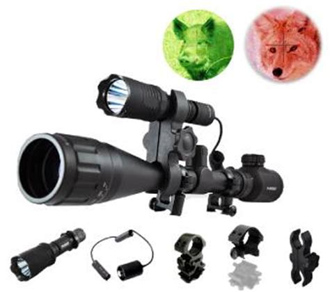 Can Coyotes See Green Light by H20 Or Green Hog Coyote Fox Rifle Mount