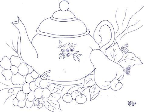 dibujos infantiles para pintar tela frutas para pintar en tela imagui