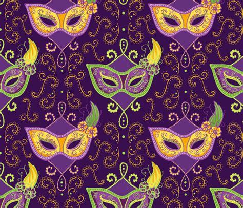Top Ten Wallpapers Mardi Gras Designs Spoonflower Design Challenge