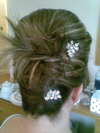 hairstyles with hair grips swarovski diamante and pear shaped wedding hair grips