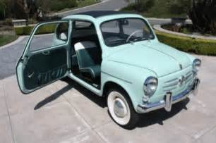 Vintage Fiats For Sale 1960 Fiat 600 Convertible Classic Italian Cars For Sale