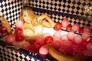 Mariah Carey Bathtub Mariah Carey Poses Semi For Husband Nick Cannon In